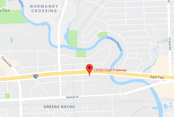 Map of 12930 East Fwy, Houston, TX 77015